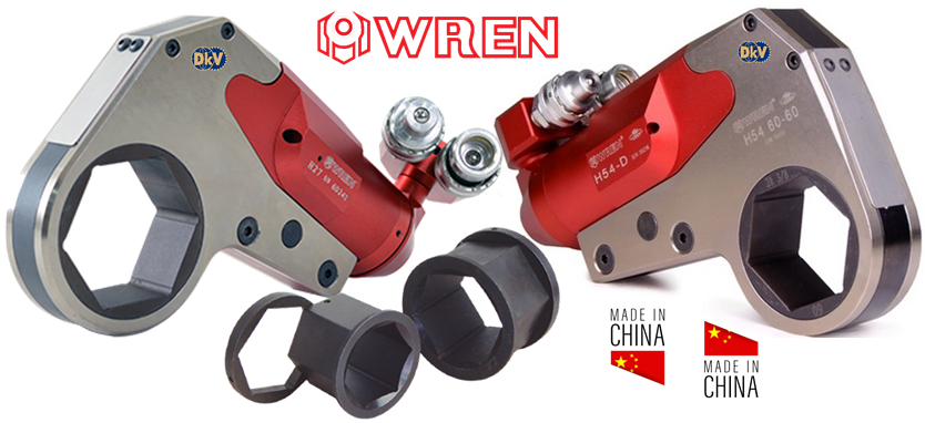 co le thuy luc wren h430, wren hydraulic torque wrench h430