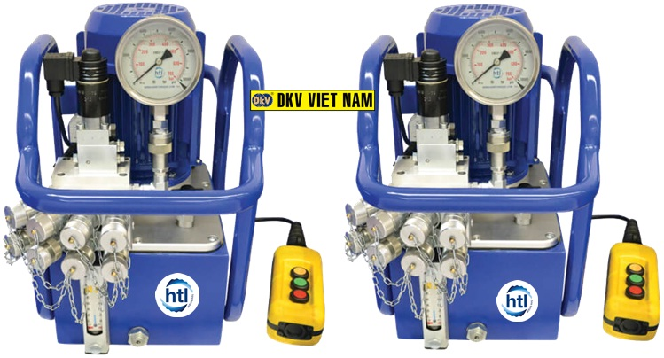bom co le thuy luc HTL-PEP, Electric hydraulic torque wrench pump HTL-PEP