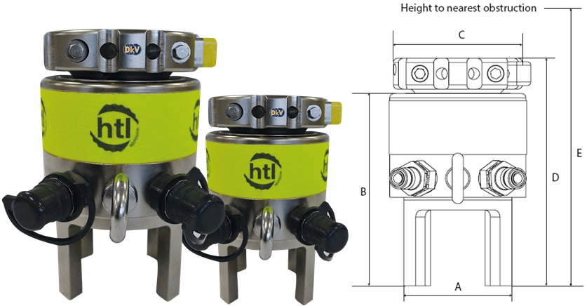 cang bulong thuy luc duoi nuoc HTL-SS5, HTL Subsea tensioner HTL-SS5, M45