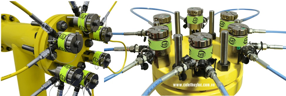 cang bulong thuy luc duoi nuoc HTL-SS5, HTL Subsea tensioner HTL-SS5, M45, UK