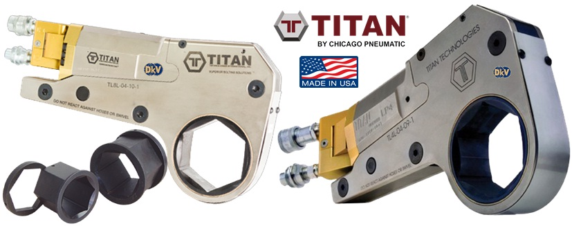 co le thuy luc Titan LP16, Titan low profile hydraulic torque wrench LP16